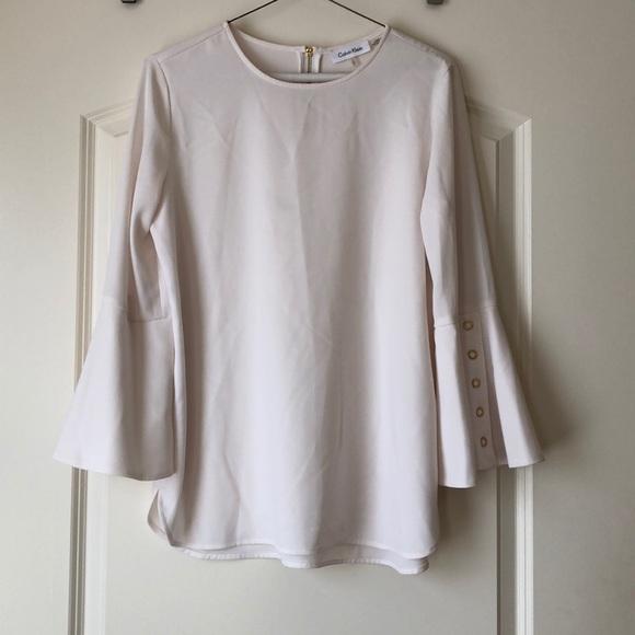 Calvin Klein Tops - NWOT Calvin Klein Bell Sleeve Top